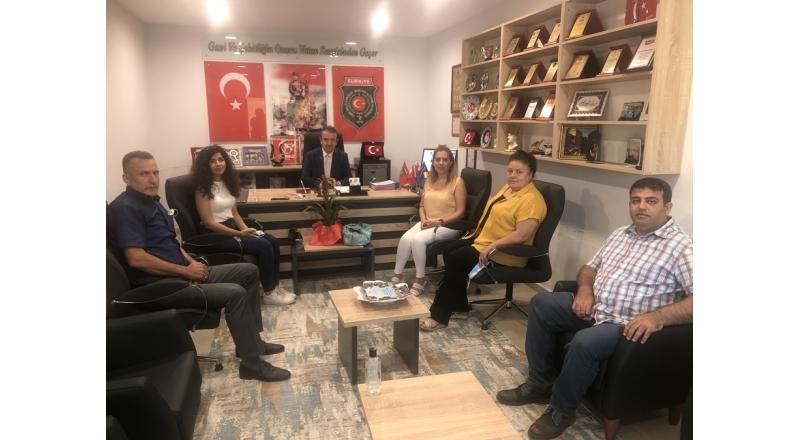 GELECEK PARTİSİ KADIN KOLLARINDAN ZİYARET
