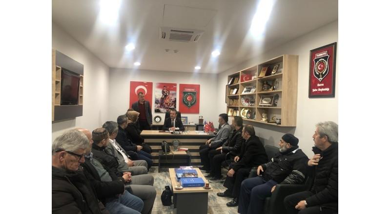 STK'LARDAN DERNEĞİ ZİYARET